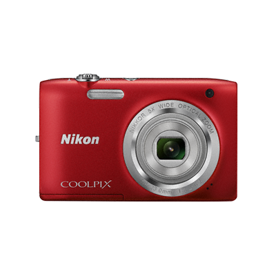 Apareil Photo NIKON COOLPIX Rouge