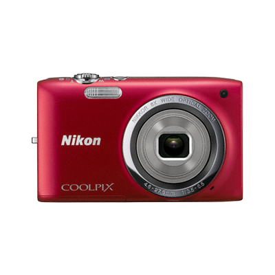 Appareil Photo NIKON COOLPIX Rouge