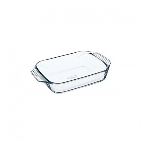 Plat rectangle pyrex